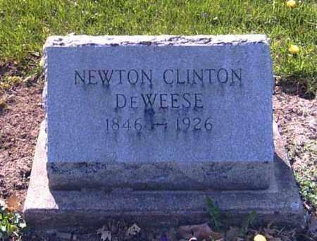 DEWEESE, NEWTON CLINTON - Shelby County, Ohio | NEWTON CLINTON DEWEESE - Ohio Gravestone Photos