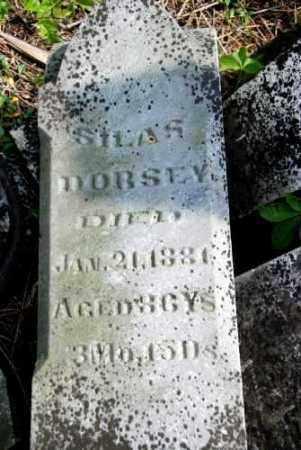 DORSEY, SILAS - Shelby County, Ohio   SILAS DORSEY - Ohio Gravestone Photos