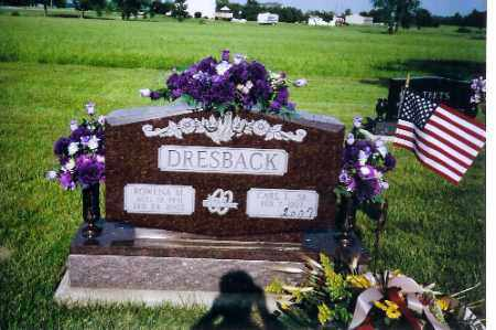 DRESBACK, ROWENA - Shelby County, Ohio | ROWENA DRESBACK - Ohio Gravestone Photos