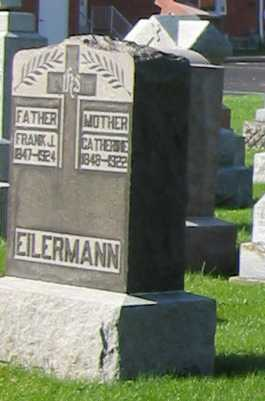 EILERMAN, FRANK J. - Shelby County, Ohio | FRANK J. EILERMAN - Ohio Gravestone Photos