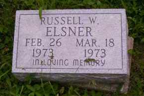 ELSNER, RUSSELL W. - Shelby County, Ohio | RUSSELL W. ELSNER - Ohio Gravestone Photos