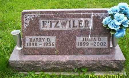 ETZWILER, HARRY D. - Shelby County, Ohio   HARRY D. ETZWILER - Ohio Gravestone Photos