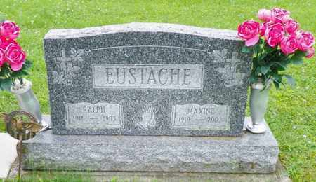 EUSTACHE, RALPH - Shelby County, Ohio   RALPH EUSTACHE - Ohio Gravestone Photos