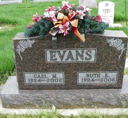 EVANS, CARL M. - Shelby County, Ohio   CARL M. EVANS - Ohio Gravestone Photos
