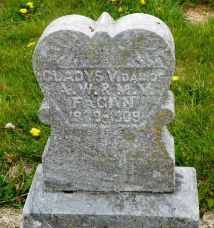 FAGAN, GLADYS - Shelby County, Ohio | GLADYS FAGAN - Ohio Gravestone Photos