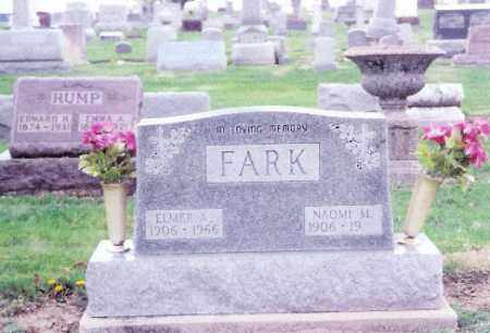 FARK, NAOMI - Shelby County, Ohio | NAOMI FARK - Ohio Gravestone Photos