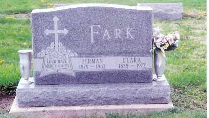 FARK, CLARA - Shelby County, Ohio | CLARA FARK - Ohio Gravestone Photos