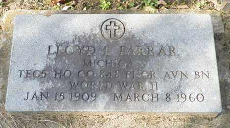 FARRAR, LLOYD L. - Shelby County, Ohio | LLOYD L. FARRAR - Ohio Gravestone Photos
