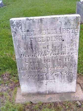 FIELDING, ELIZABETH - Shelby County, Ohio | ELIZABETH FIELDING - Ohio Gravestone Photos