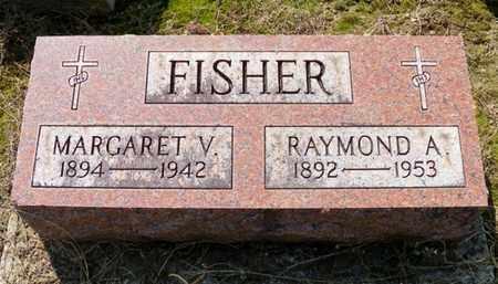 FISHER, RAYMOND A. - Shelby County, Ohio | RAYMOND A. FISHER - Ohio Gravestone Photos