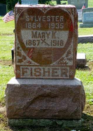 FISHER, MARY K. - Shelby County, Ohio | MARY K. FISHER - Ohio Gravestone Photos