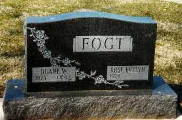 FOGT, ROSE EVELYN - Shelby County, Ohio | ROSE EVELYN FOGT - Ohio Gravestone Photos
