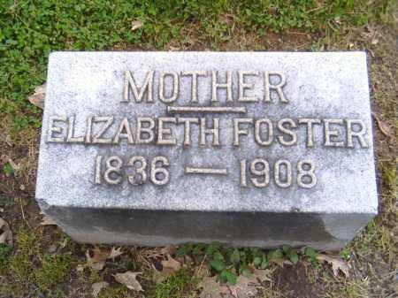 FOSTER, ELIZABETH - Shelby County, Ohio   ELIZABETH FOSTER - Ohio Gravestone Photos
