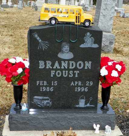 FOUST, BRANDON - Shelby County, Ohio | BRANDON FOUST - Ohio Gravestone Photos