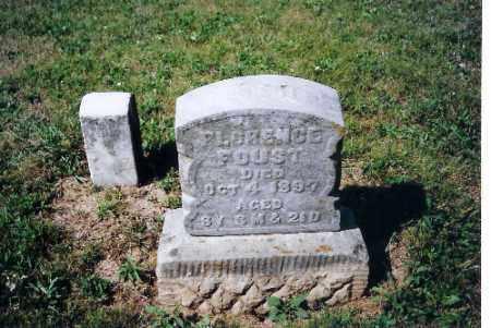 FOUST, FLORENCE - Shelby County, Ohio | FLORENCE FOUST - Ohio Gravestone Photos