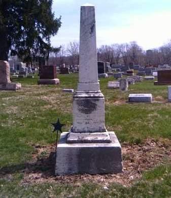 CHAPIN FRANKEBERGER, HARRIETT M. - Shelby County, Ohio | HARRIETT M. CHAPIN FRANKEBERGER - Ohio Gravestone Photos