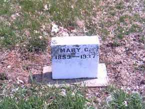 FRANKEBERGER, MARY C. - Shelby County, Ohio | MARY C. FRANKEBERGER - Ohio Gravestone Photos