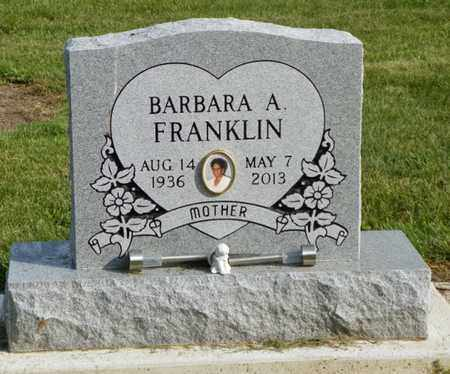 FRANKLIN, BARBARA A. - Shelby County, Ohio | BARBARA A. FRANKLIN - Ohio Gravestone Photos