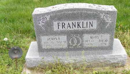 FRANKLIN, JAMES F. - Shelby County, Ohio | JAMES F. FRANKLIN - Ohio Gravestone Photos