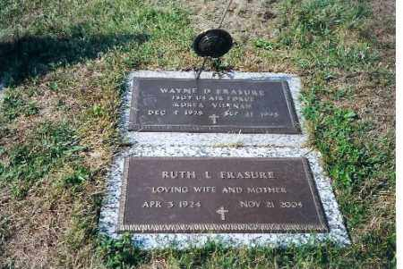 FRASURE, RUTH L - Shelby County, Ohio | RUTH L FRASURE - Ohio Gravestone Photos