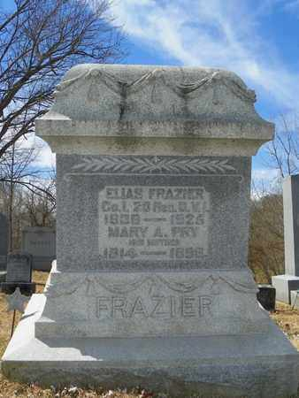 FRAZIER, ELIAS - Shelby County, Ohio | ELIAS FRAZIER - Ohio Gravestone Photos