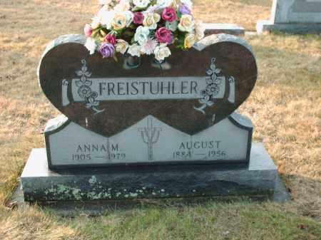 FREISTUHLER, AUGUST - Shelby County, Ohio | AUGUST FREISTUHLER - Ohio Gravestone Photos