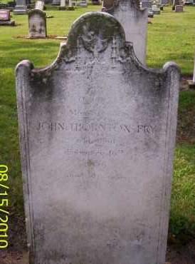 FRY, JOHN THORNTON - Shelby County, Ohio | JOHN THORNTON FRY - Ohio Gravestone Photos
