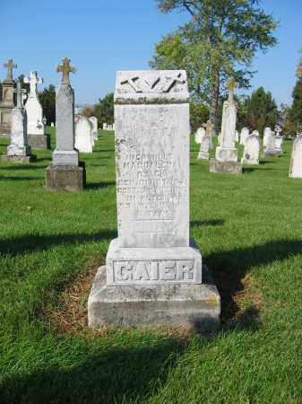 GAIER, MAGDALENA - Shelby County, Ohio   MAGDALENA GAIER - Ohio Gravestone Photos