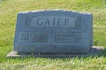 GAIER, MARY ELLEN - Shelby County, Ohio | MARY ELLEN GAIER - Ohio Gravestone Photos