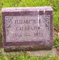 GALBRAITH, ELIZABETH B. - Shelby County, Ohio | ELIZABETH B. GALBRAITH - Ohio Gravestone Photos