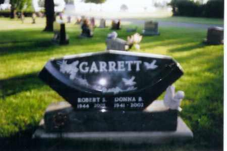 GARRETT, ROBERT S. - Shelby County, Ohio | ROBERT S. GARRETT - Ohio Gravestone Photos