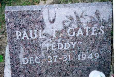 GATES, PAUL T. - Shelby County, Ohio | PAUL T. GATES - Ohio Gravestone Photos