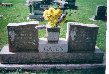 GATES, LOIS J. - Shelby County, Ohio | LOIS J. GATES - Ohio Gravestone Photos