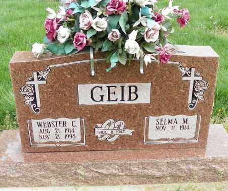 GEIB, SELMA M. - Shelby County, Ohio | SELMA M. GEIB - Ohio Gravestone Photos
