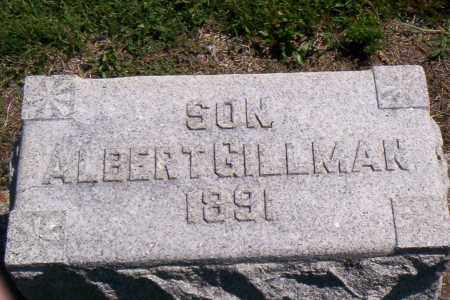 GILLMAN, ALBERT - Shelby County, Ohio | ALBERT GILLMAN - Ohio Gravestone Photos