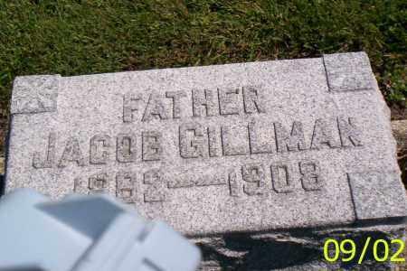 GILLMAN, JACOB - Shelby County, Ohio   JACOB GILLMAN - Ohio Gravestone Photos