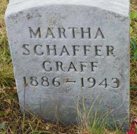 GRAFF, MARTHA - Shelby County, Ohio | MARTHA GRAFF - Ohio Gravestone Photos