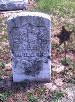 GRAHAM, JAS. H. - Shelby County, Ohio   JAS. H. GRAHAM - Ohio Gravestone Photos