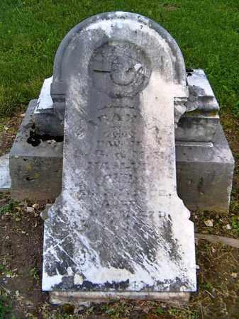 GREER, SARAH A. - Shelby County, Ohio   SARAH A. GREER - Ohio Gravestone Photos