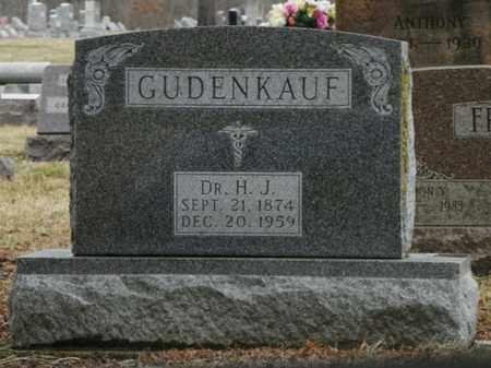 GUDENKAUF, H. J. - Shelby County, Ohio | H. J. GUDENKAUF - Ohio Gravestone Photos