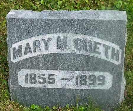 GUETH, MARY M. - Shelby County, Ohio | MARY M. GUETH - Ohio Gravestone Photos