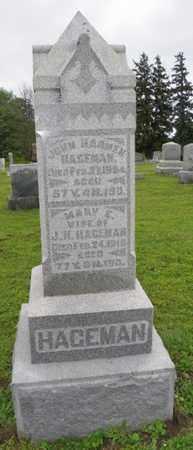 HAGEMAN, MARY E. - Shelby County, Ohio | MARY E. HAGEMAN - Ohio Gravestone Photos