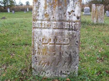 HARDISTY, ROBERT - Shelby County, Ohio   ROBERT HARDISTY - Ohio Gravestone Photos