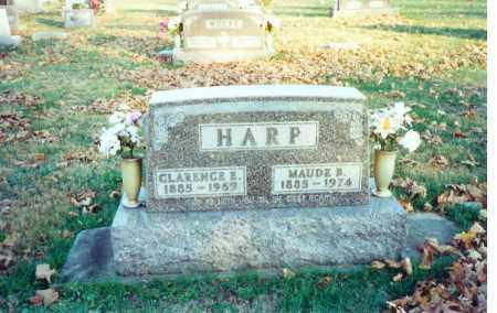 HARP, MAUDE - Shelby County, Ohio | MAUDE HARP - Ohio Gravestone Photos