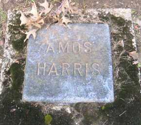 HARRIS, AMOS - Shelby County, Ohio | AMOS HARRIS - Ohio Gravestone Photos