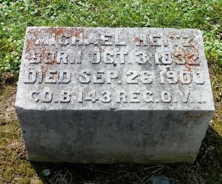 HEITZ, MICHAEL - Shelby County, Ohio   MICHAEL HEITZ - Ohio Gravestone Photos