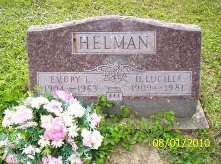 HELMAN, EMORY L. - Shelby County, Ohio   EMORY L. HELMAN - Ohio Gravestone Photos