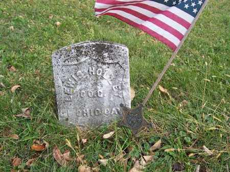 HOLLEY, LEWIS - Shelby County, Ohio | LEWIS HOLLEY - Ohio Gravestone Photos