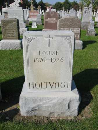 HOLTVOGT, LOUISE - Shelby County, Ohio   LOUISE HOLTVOGT - Ohio Gravestone Photos