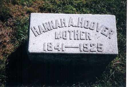 HOOVER, HANNAH A. - Shelby County, Ohio | HANNAH A. HOOVER - Ohio Gravestone Photos